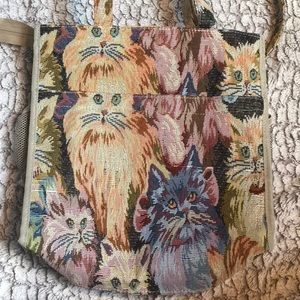 Tapestry Cat Bag   Isaka